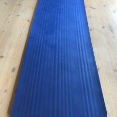 Træningsmåtte – Yogamåtte – Blå 15 mm tyk