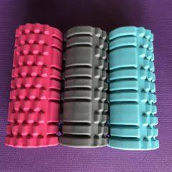 Foam Roller - 3 forskellige farver
